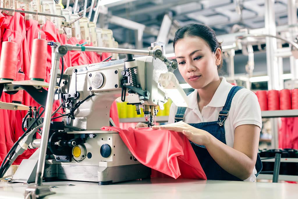 Fabricant de vêtements en Chine