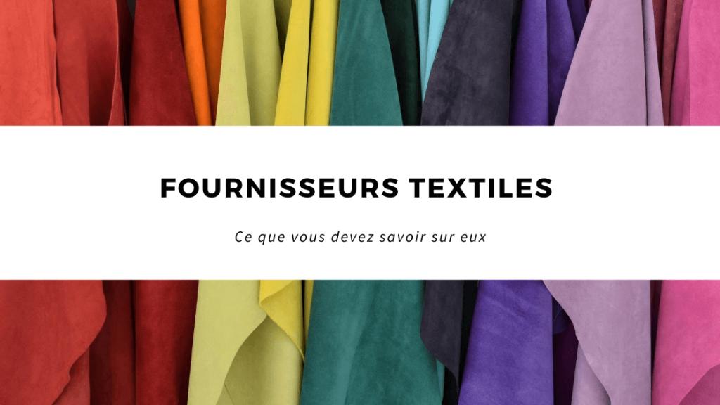 Fournisseurs textiles